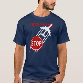 T-shirt Arrêtez l'arrêt de Chemtrails se connectent