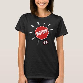 T-shirt Arrêtez le club créatif de mouvement pour la femme