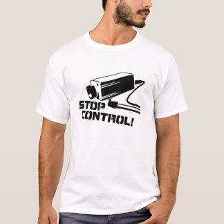 T-shirt Arrêtez le contrôle