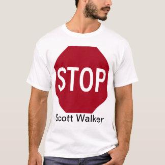 T-shirt Arrêtez le marcheur de Scott
