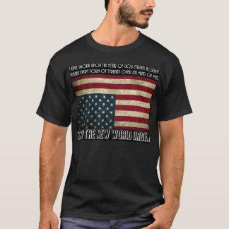 T-shirt Arrêtez le nouvel ordre mondial Thomas Jefferson