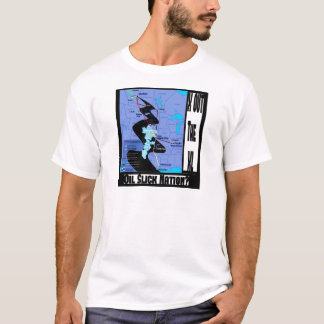 T-shirt Arrêtez l'extension de canalisation de XL
