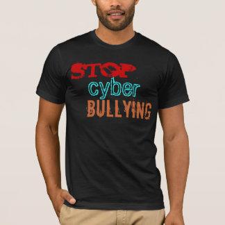 T-shirt Arrêtez l'intimidation de Cyber