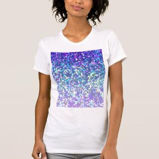 T-shirt Arrière - plan de graphique de scintillement de