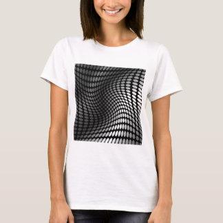T-shirt arrière - plan de vague