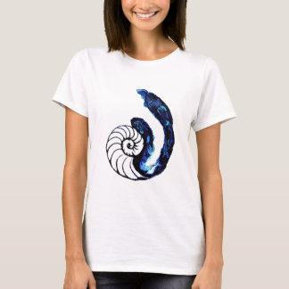 T-shirt Arrière - plan personnalisable de noir d'orphelin
