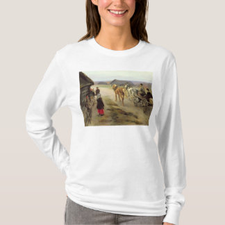 T-shirt Arrivée d'une maîtresse dans le pays