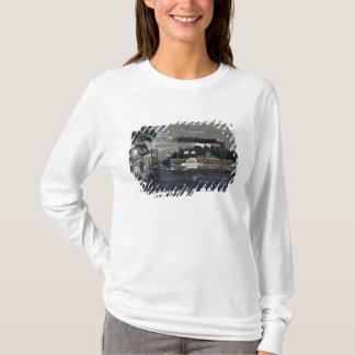T-shirt Arrondissage d'une courbure sur le bateau à
