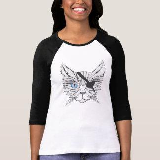 T-shirt Art #1 de fan de chats de pirate