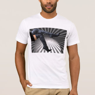 T-shirt Art à la mode et moderne de botte
