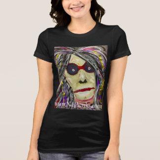 T-shirt Art abstrait de Face~Original de NJPunks