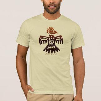 T-shirt Art antique AZTÈQUE de mode d'esprit d'oiseau