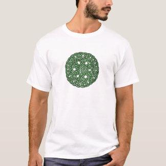T-shirt Art celtique vert de noeud