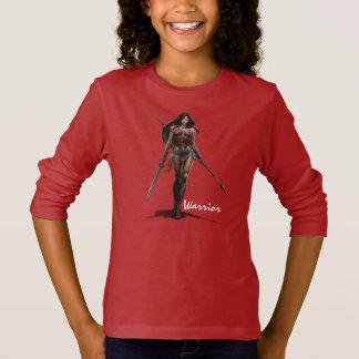 T-shirt Art comique Bataille-Prêt de femme de merveille