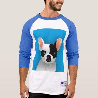 T-shirt Art de bouledogue - bouledogue français