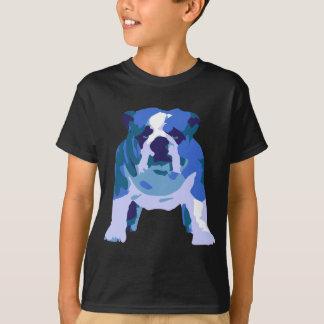 T-shirt Art de bruit anglais de bouledogue