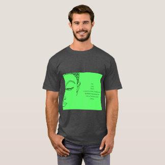 T-shirt Art de bruit Bouddha et chemise de zen