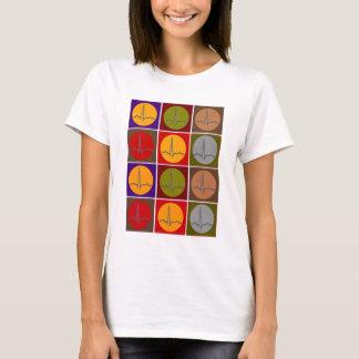 T-shirt Art de bruit cardiaque de QRS