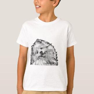 T-shirt art de bruit coloré lumineux d'amusement américain