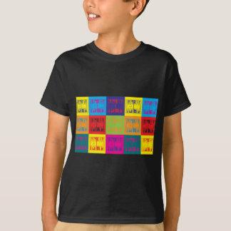 T-shirt Art de bruit de backgammon