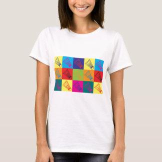 T-shirt Art de bruit de badminton