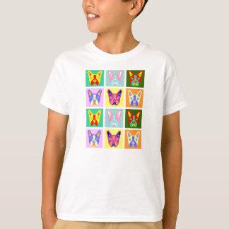 T-shirt Art de bruit de Boston Terrier