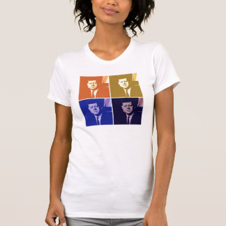 T-shirt Art de bruit de John F. Kennedy