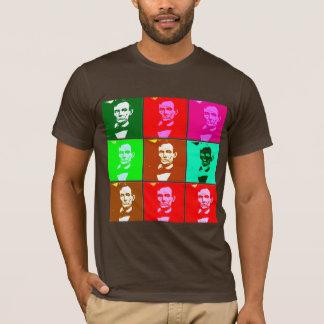 T-shirt Art de bruit .esque Abraham Lincoln