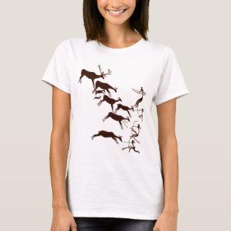 T-shirt Art de caverne de Lascaux