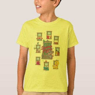 T-shirt Art de cru de fenêtre