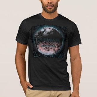 T-shirt art de lune de meyer de skot par Karen Kreature