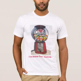 T-shirt Art de machine de bubble-gum