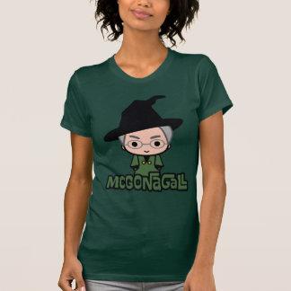 T-shirt Art de personnage de dessin animé de professeur