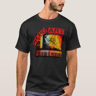 T-shirt Art de piano - Electronica