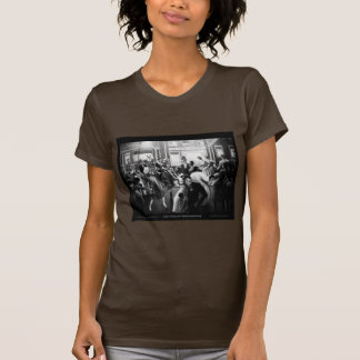 """T-shirt Art de Renaissance de Harlem - """"obtenant la"""