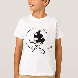 T-shirt Art de tennis par Kyle T. Webster