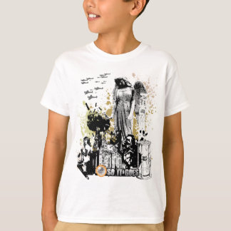 T-shirt Art de vecteur de l'abattoir cinq