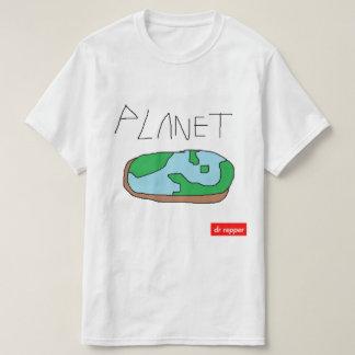 T-shirt Art de voie de planète