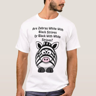 T-shirt Art de zèbre