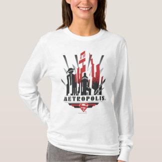T-shirt Art déco de métropole