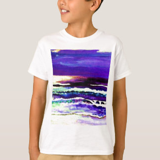 "T-shirt Art d'océan de CricketDiane ""de mer de nuit de"