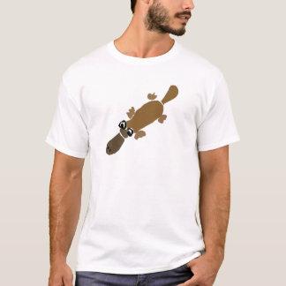 T-shirt Art drôle d'ornithorynque de Duckbill