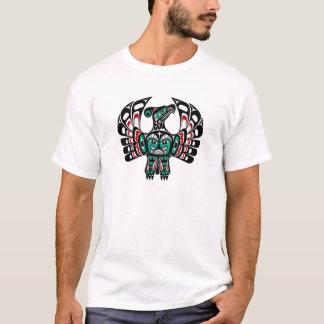 T-shirt Art du nord-ouest Thunderbird de Haida de Côte