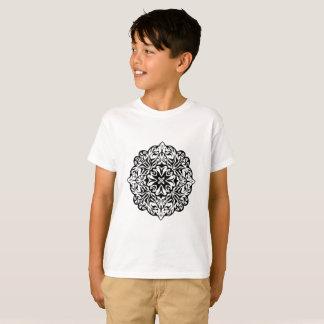 T-shirt Art ethnique de style de mandala maori polynésien