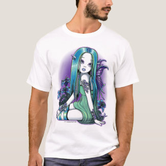 "T-shirt Art féerique de Lilly de lune gothique de ""Luna"""