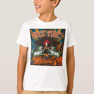 T-shirt Art libre de grunge du Thibet