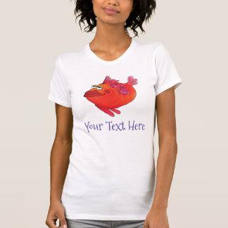 T-shirt Art lunatique et adorable de poissons en rouge et