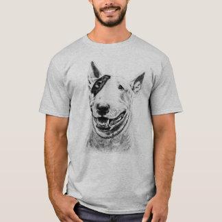 T-shirt Art mignon de chien de bull-terrier