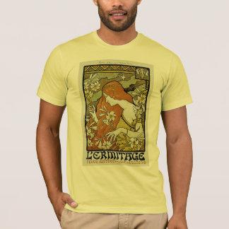T-shirt Art Nouveau de L'Ermitage floral