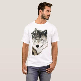 T-shirt Art original de loup